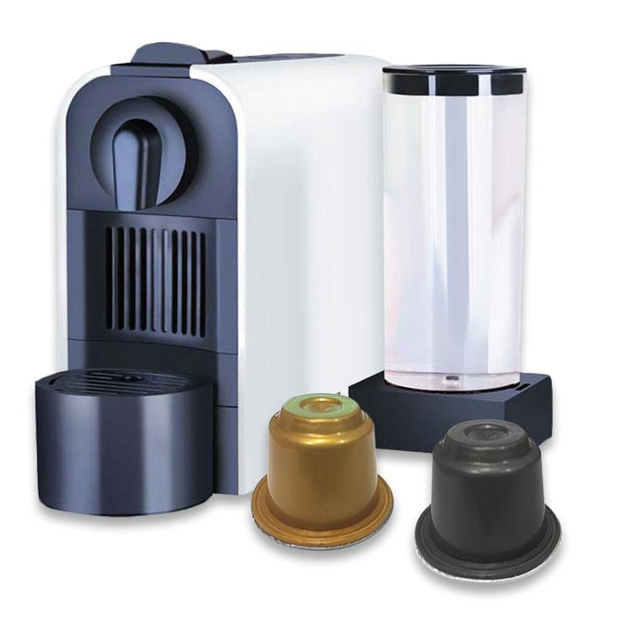 coffee machine 150 capsules ecafe ths honolulu. Black Bedroom Furniture Sets. Home Design Ideas